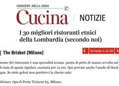 Cucina Corriere Brisket Milano