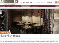 AGRODOLCE Brisket Milano